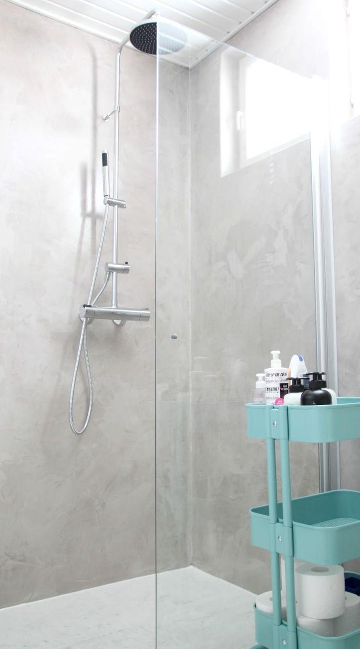 Nuapurissa: Mikrosementti kylpyhuoneessa // ennen ja jlkeen. Bathroom  InspirationBathroom InspoBathroom IdeasBath ...