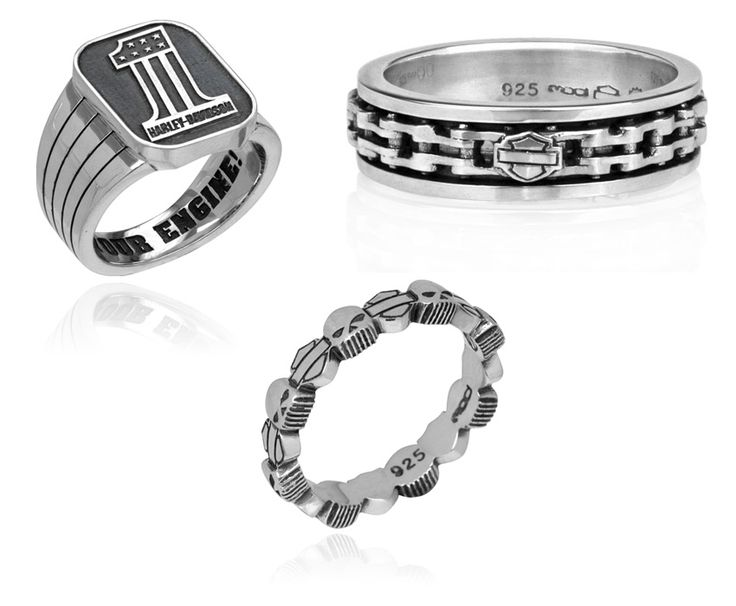 Harley Davidson Rings By MOD Jewelry