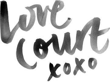 Love Court xoxo