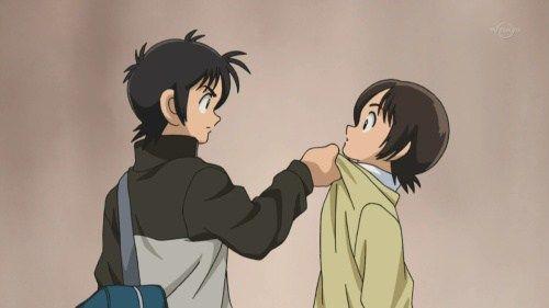 Kou restraining Aoba, from Cross Game
