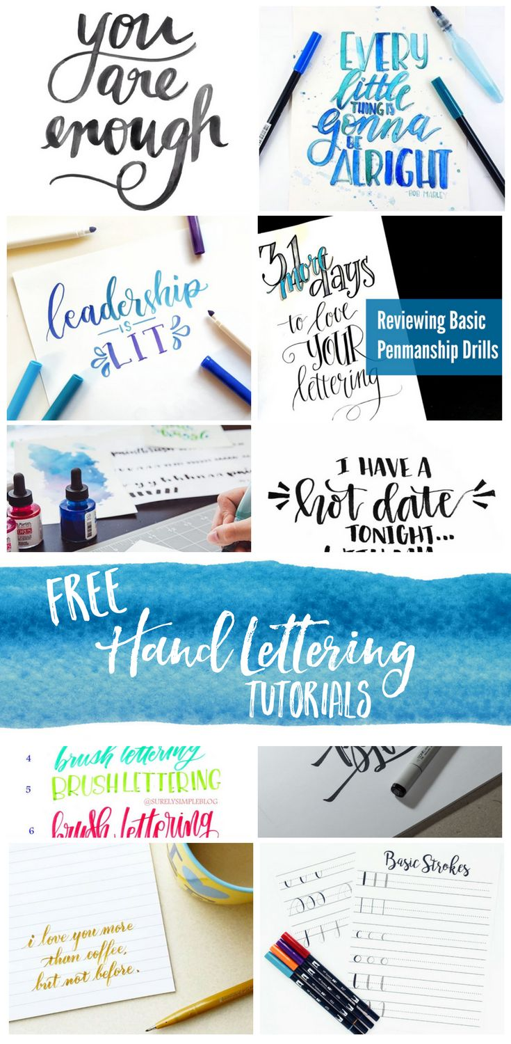 10 Hand Lettering Pros to Inspire and Teach                                                                                                                                                                                 More