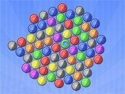 Free Online Puzzle Games, Try this unique twist of a matching game in Bubble It!  In Bubble it, you must click on any ball to transform it into the center of gravity, and then watch as the other bubbles are drawn to it!  See if you can get 4 of the incoming bubbles to match to get points!, #bubble #pop #match #puzzle