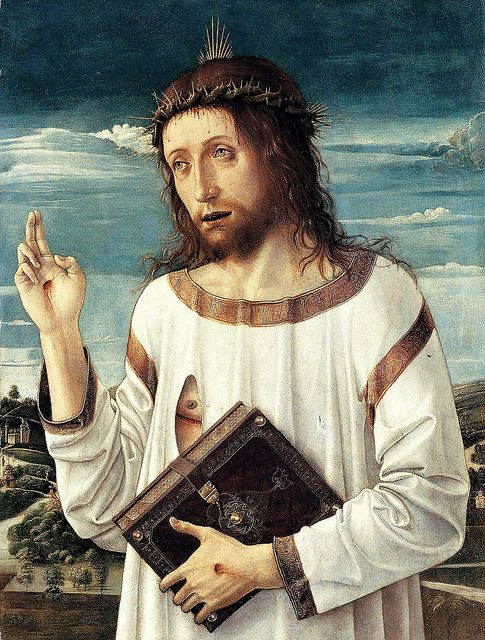 Andrea Mantegna, Christ Blessing, 1459 | Flickr - Photo Sharing!