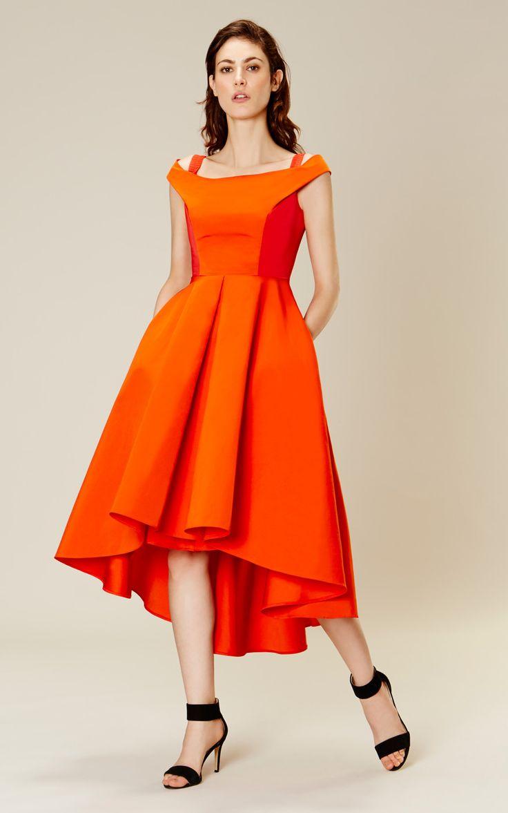 Karen Millen Off-the-shoulder prom dress