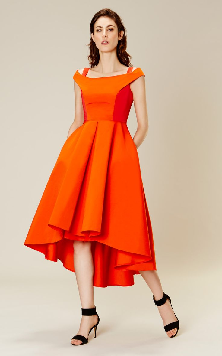 Karen Millen Off-the-shoulder prom dress