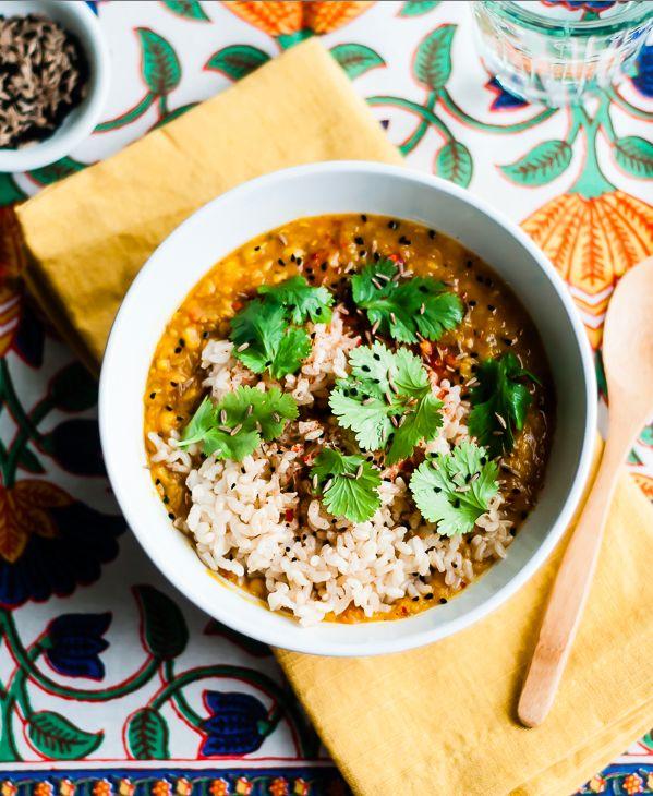 Vegetarian Red Lentil Dal
