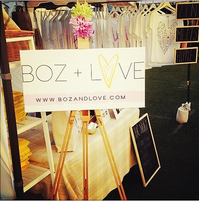 Anything is BOZible (!!) at the 'BOZ + LOVE' stall at Bondi Markets. Every print is designed by founder, Bozana (Boz) in her Sydney studio. Team with a blazer, a bomber or perhaps even your favourite leather jacket. Perhaps even try an underneath layer of sheer sleeves or a thicker turtleneck.