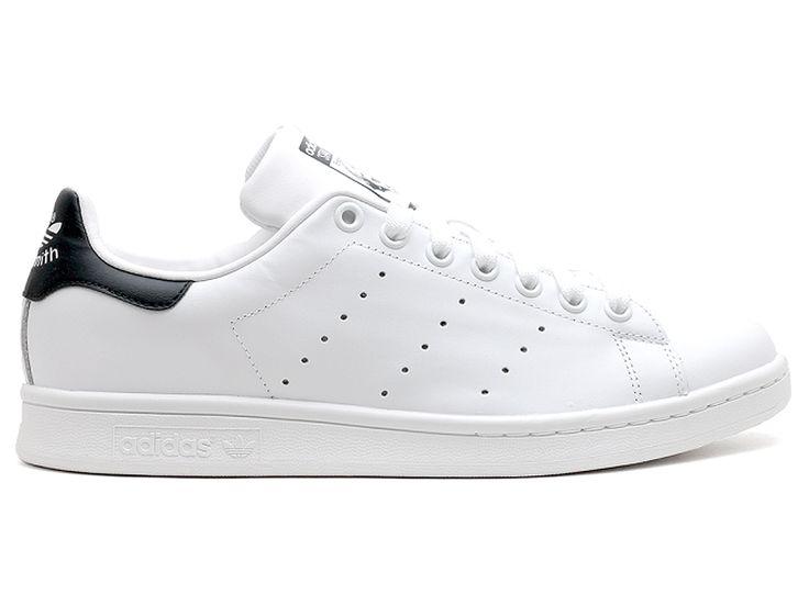 Adidas Stan Smith - Chaussure Adidas Sportswear Pas Cher Pour Homme/Femme Blanc/Noir M20325
