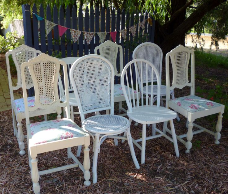 Assorted Vintage Chairs www.capeoflove.com