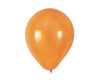 Orange Balloons, Package of 25 | whish.ca