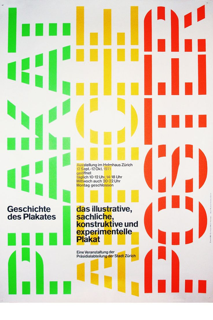 Poster design grid - A History Of Graphic Design Chapter The Swiss Grid System And The Dutch Total Grid