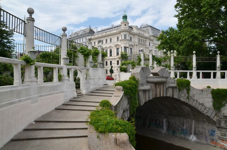 Film and Photo Shoot Locations in Austria: Canal %26 Entrance Of Stadtpark