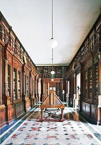 Biblioteca Nazionale Napoli II by Candida Höfer from Sonnabend Gallery #GISSLER #interiordesign