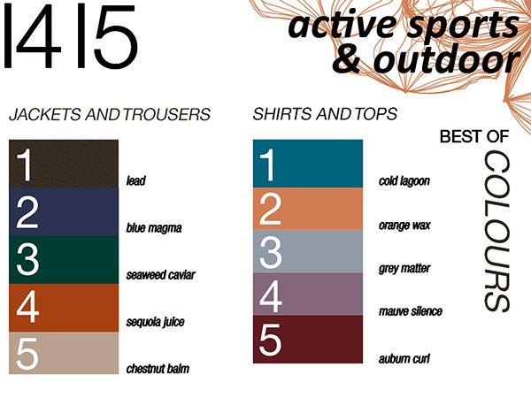 COLOR TREND: AUTUMN WINTER 2014/15 FOR MEN'S WEAR on Behance