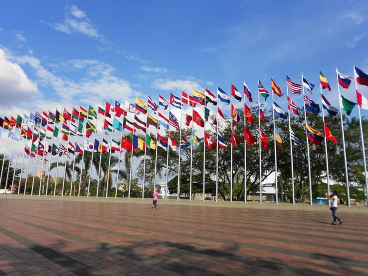 Parque de las banderas o Parque Panamericano - world Games Cali 2013