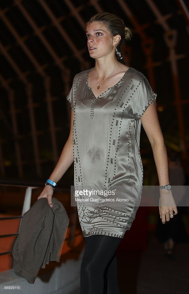 Athina Onassis arrives at the Oxer Adwards during day two of the Global Champions Tour 2010 at Ciudad de Las Artes y Las Ciencias on May 8, 2010 in Valencia, Spain.