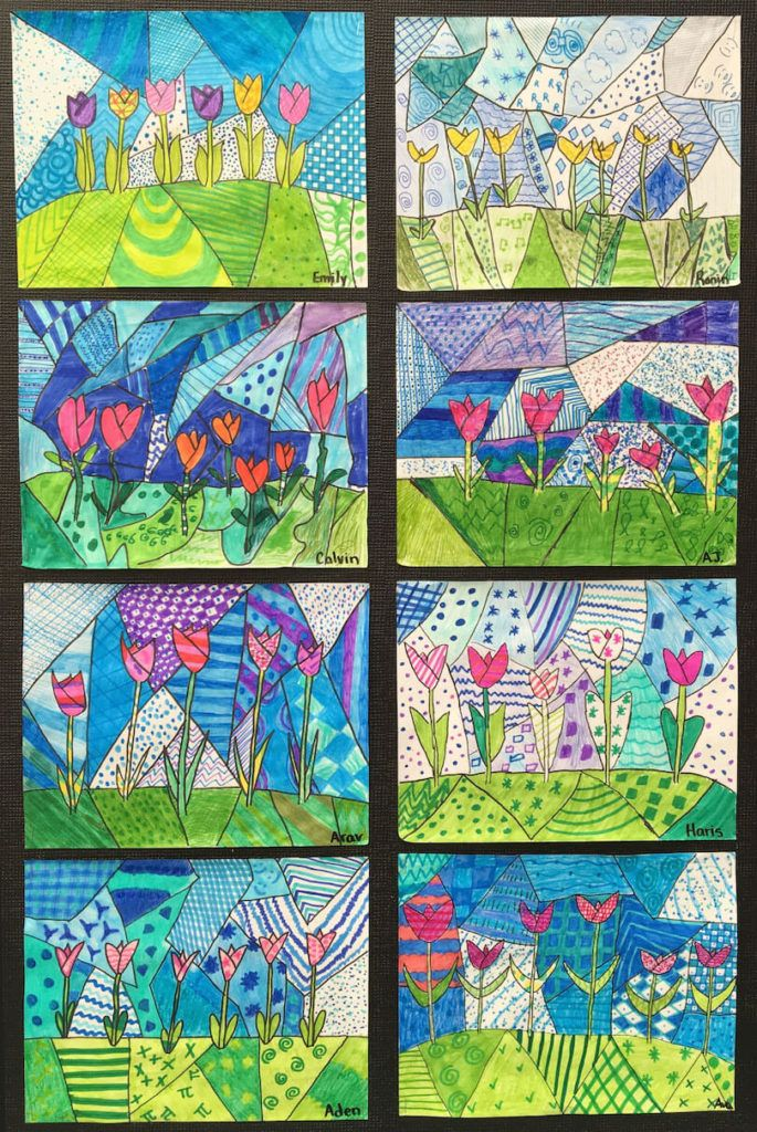 Spring Art Gallery: Children's Art
