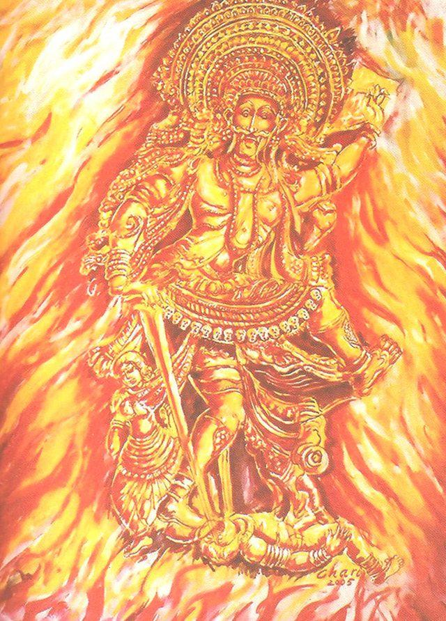 12 Fascinating Forms of Lord Shiva: Veerabhadra