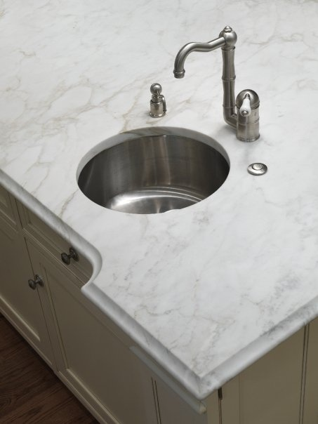 Countertop Edges Silestone : white marble kitchen countertops; countertop edges