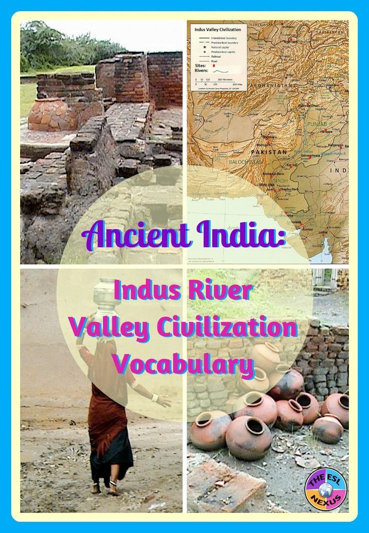 Use these 26 vocabulary words in flashcard & poster sizes to teach about the history, geography, people & places of the Indus River Valley civilization of Ancient India. Includes 13 activities for using the words & a list of multiple meaning words.