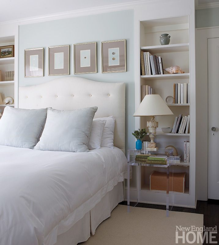 Bedroom shelving | New England Home Magazine