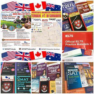 PUSAT PERSIAPAN TES TOEFL, IELTS, GMAT, GRE, SAT, TOEIC • KONSULTASI BEASISWA KE LUAR NEGERI •: Kursus TOEFL Terbaik di Surabaya