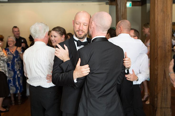 John and Andrew's love-filled Wedding at Wolfies http://docksidegroup.com.au/blog/real-wedding-john-and-andrew