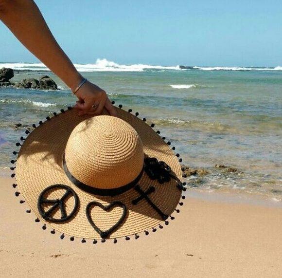 Que tal um chapéu de praia super estiloso, diferenciado e PERSONALIZADO com o …   – Sombrero