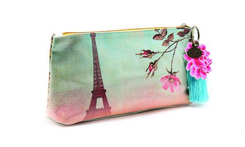 Bolsas, Porta moedas e Cartões : Bolsa Eiffel Tower