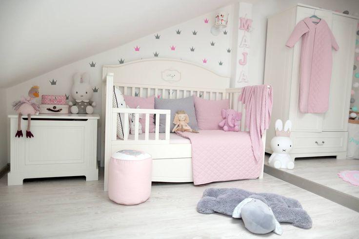 """Babyzimmer """"Gute Nacht"""" weiß"""