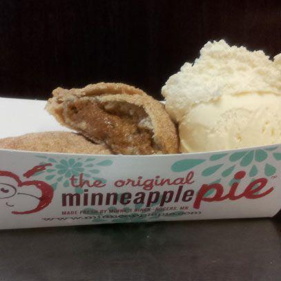 Minnepumpkin Pie An individual deep fried pumpkin pie with cinnamon ...