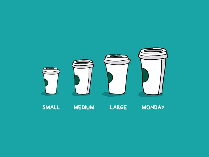 Too much Monday, not enough coffee ☕ ☕ ☕ by Akshar Pathak