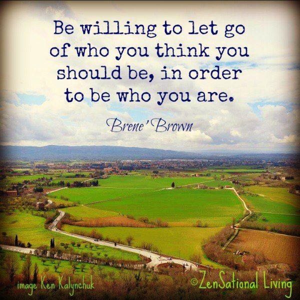 Brene' Brown. I think I should use this quote in one of my pics.