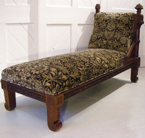 Gothic Revival Day Bed