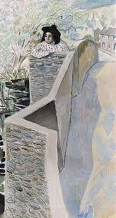 Image result for Gilbert Spencer On Bakewell Bridge, 1950s -
