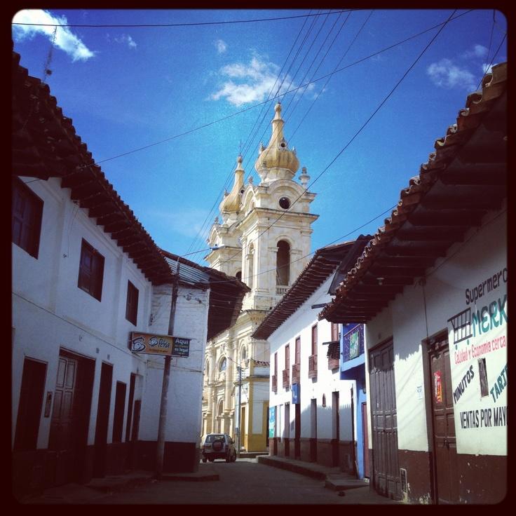 La iglesia se Suaita - Santander - Colombia