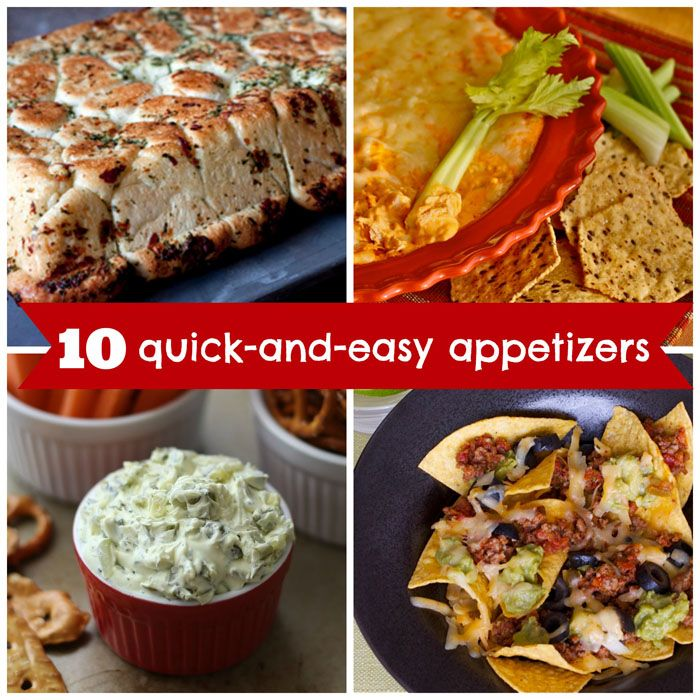 10 Quick-and-Easy Appetizer Recipes for March Madness