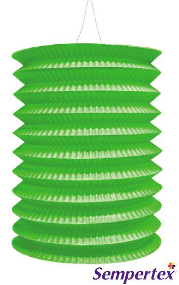 Lámpara Farol  Verde Lima x3