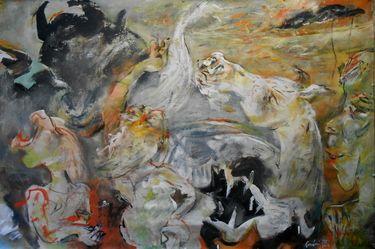 "Saatchi Art Artist Manlio Rondoni; Painting, ""Lampedusa 3 ottobre 2013"" #art"