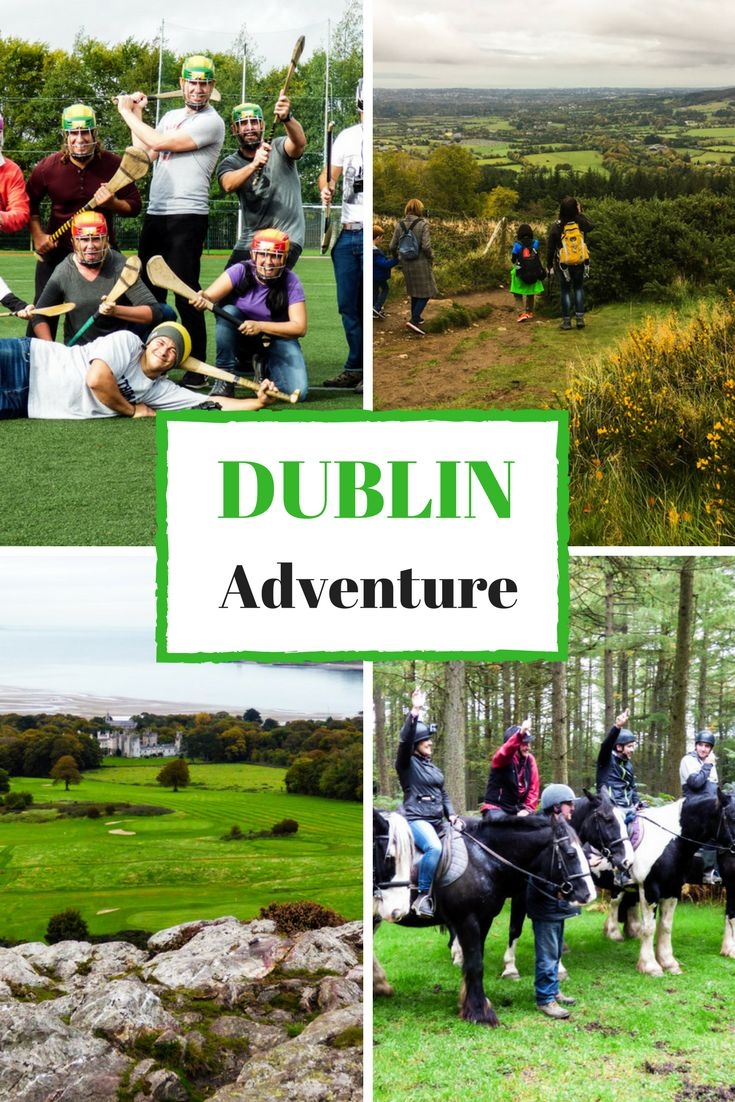 Adventure Day Trips from Dublin