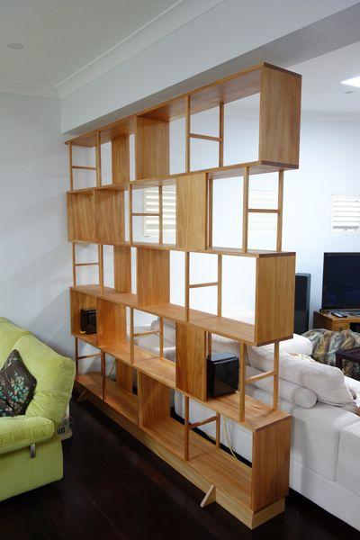 Custom made timber Bookshelves, Sydney | Nathaniel Grey - 25+ Best Ideas About Room Divider Bookcase On Pinterest