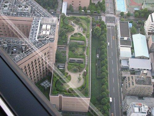 rooftop gardens toyko