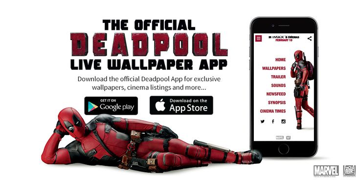 The Official Deadpool Live Wallpaper App