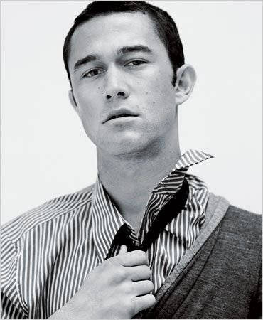 Joseph Gorden Levitt by Jean-Baptiste Mondino via NYTimes.