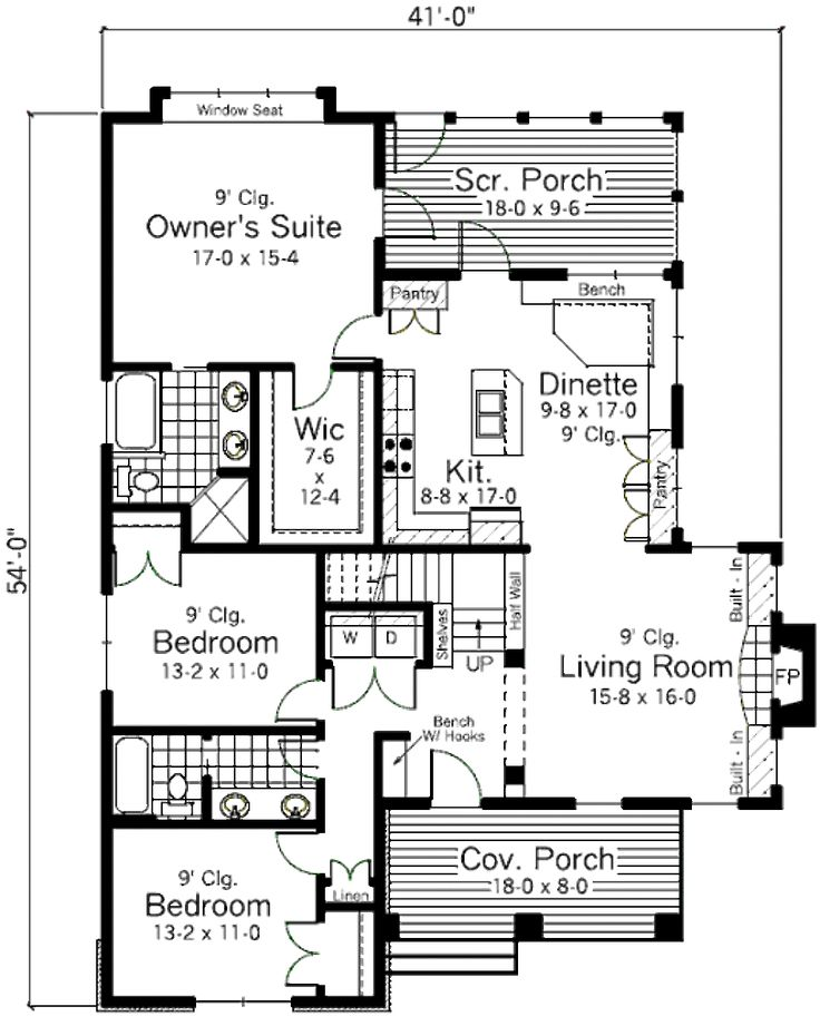 421 Best Floor Plans Images On Pinterest | House Floor Plans