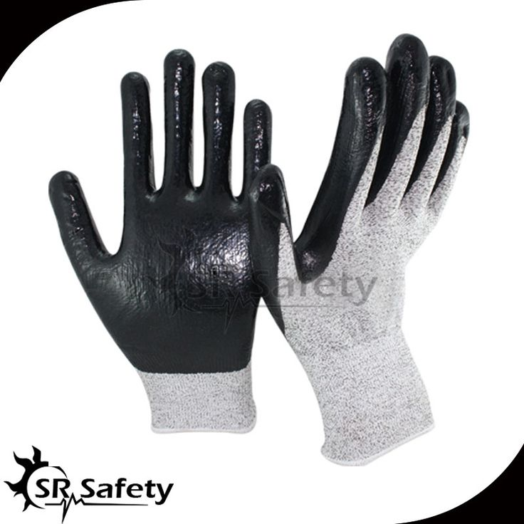 16.88$  Watch now - http://aliuc9.shopchina.info/go.php?t=32797657635 - SRSAFETY 6 Pairs EN388 4343,Nylon-HPPE Cut Resistant Nitrile Dipping Working Glove,Glass industry,Metal processing,Cut Level 3  #SHOPPING