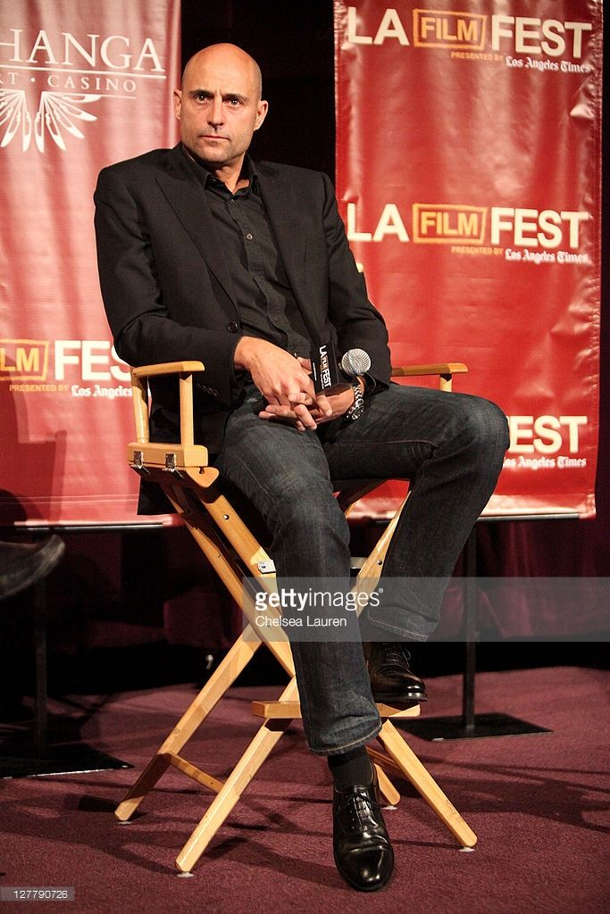 Actor Mark Strong attends the 2011 Los Angeles Film Festival 'Green Lantern' special screening held at Regal Cinemas L.A. Live on June 16, 2011 in Los Angeles, California.