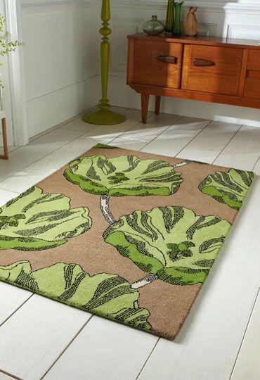 WovenGround Rugs | Modern Rugs | Emblem Rugs | Green | Lifestyle