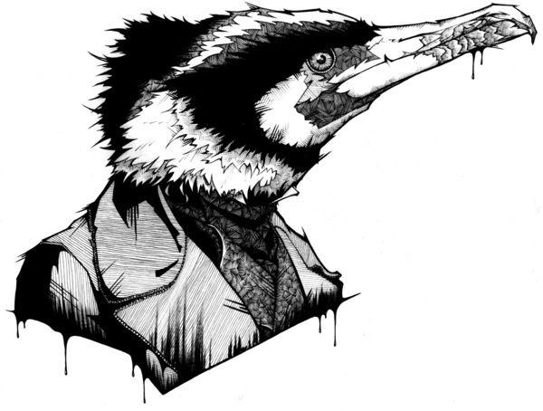 drawings... by Andreas Preis, via Behance