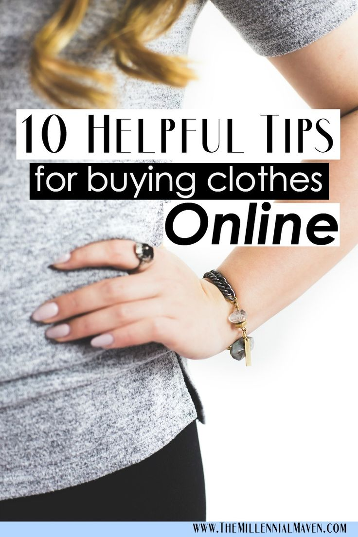 10 Helpful Tips for Buying Clothes Online (Online Clothes Shopping)